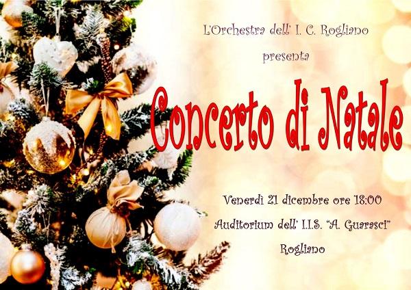 Concerto di Natale dell'Orchestra dell'I.C. di Rogliano