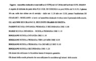 Assemblea sindacale del 18 ottobre 2019 - AVVISO A TUTTI I GENITORI