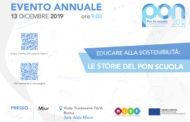 Evento annuale PON Scuola - 13 dicembre 2019 - ROMA