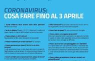 SOSPENSIONE ATTIVITA' DIDATTICHE FINO AL 03 APRILE 2020