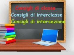 CALENDARIO - CONVOCAZIONE CONSIGLI DI CLASSE/INTERCLASSE IN MODALITA' ON LINE
