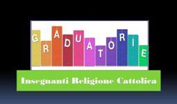 Predisposizione graduatoria regionale dei docenti IRC  - A.S. 2020/2021