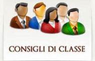 Convocazione Consigli di Classe della Scuola Secondaria di I Grado