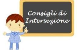 Convocazione consiglio di intersezione in seduta plenaria in modalità on line