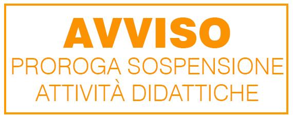 Decreto di Proroga sospensione attività didattiche e smart working uffici al 14.06.2020